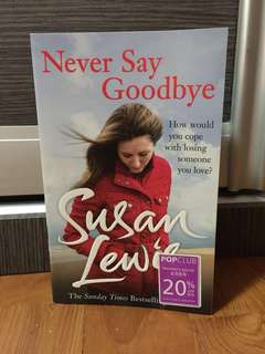 Fiction Book - Never Say Goodbye