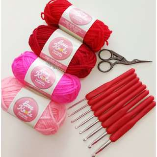 Crochet Hook Set E