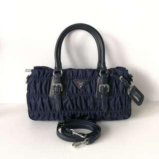 Authentic Prada Gaufre Bag