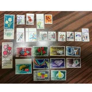 罕有以色列郵票