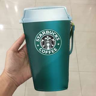 Ready stock: Starbucks Clutch MURAH