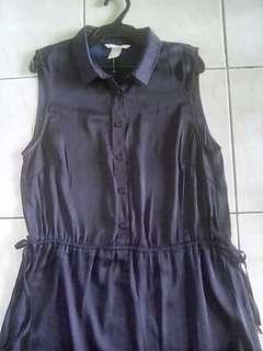 H&M Royal Blue Dress