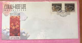 Stamps: 1994 First Day Cover Coral and Reefs Definitives