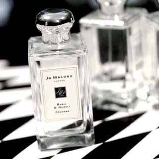 100ml Jo Malone London Basil & Neroli Cologne fragrance