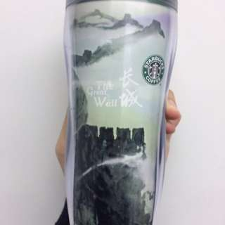Starbucks tumbler Beijing Great Wall version