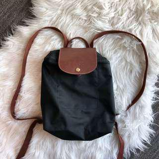 Le Pliage backpack in black
