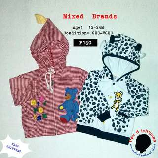 2 Pcs Of Jackets For Little Boy