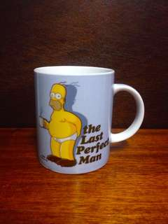 The Last Perfect Man Bart Simpson Mug