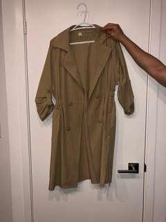 Hong Kong trench coat
