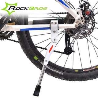 Bicycle Adjustable Side Kickstand (Black Colour)