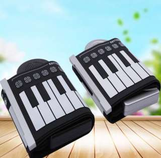 Flexible Roll Up Keyboard Piano 🤗