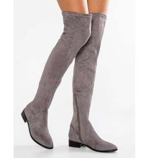 Aldo Elinna Over The Knee GREY