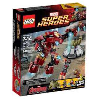 Lego 76031 Super Heroes The Hulk Buster Smash (New)