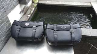 Harley Davidson saddle bag