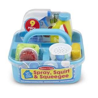 Melissa & Doug Spray, Squirt & Squeegee Toy Set