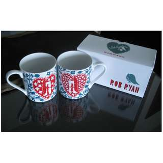 DESIGNER HIS & HERS GIFT MUGS