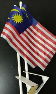 2 units Malaysia flags for cars
