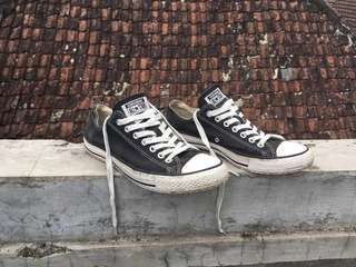 Original Converse Chuck Taylor All Star Low Black White