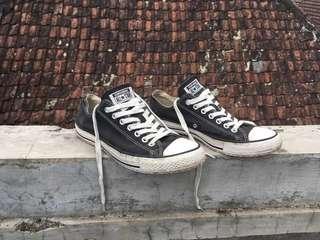Original Converse Chuck Taylor All Star Low Black White
