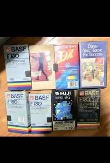 🔥[Cheap in Bulk] 📼Vintage Classic VHS Branded Cassette Tapes