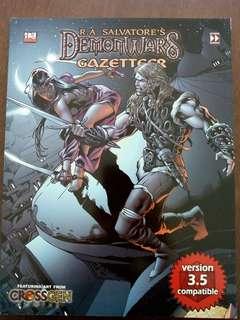 R.A Salvatore's Demonwars RPG