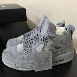 [Authentic] Nike Air Jordan 4 Retro x Kaws