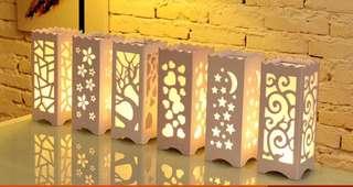 浪漫裝飾枱燈