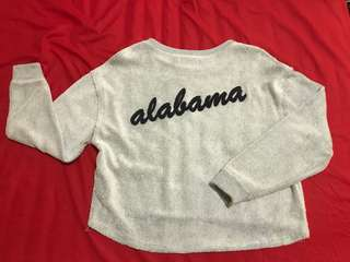 Pull and Bear Crop Sweater Alabama