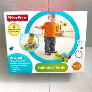 Fisherprice pull-along turtle