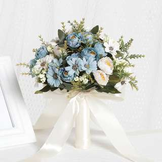 Artificial Bridal Bouquet, Prenup Bouquet Wedding Bridal Flower Wedding Flower