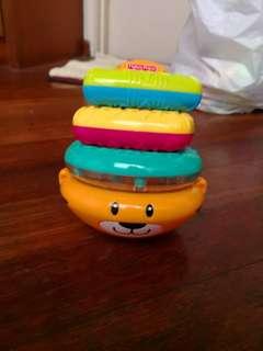 Fisher Price doughnut stacko