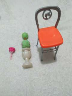 Barbie chair etc