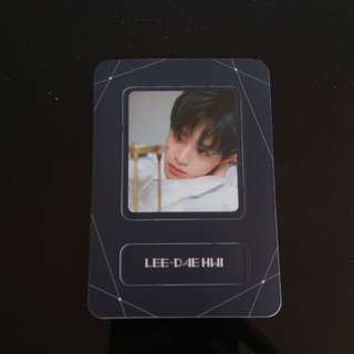 WTT/WTS Wanna One Daehwi The Heal Magnet Card