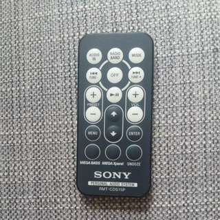 Sony Audio System Remote Control  RMT-CDS11iP