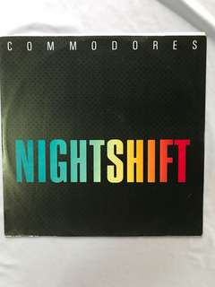 "Vinyl Record by Commodores -Nightshift 12"" Single"
