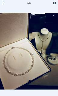 Mikimoto Infinity Necklace