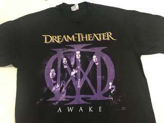 Dream Theater vintage Awake tour t-shirt