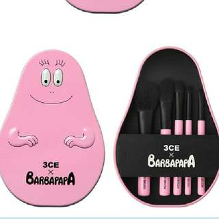 3CE Barbapapa Brush Set