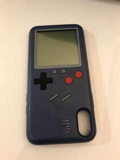 iPhoneX gameboy殼