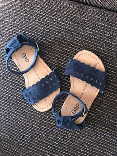 Gap navy blue sandals for 1yrold