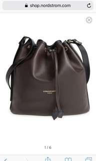 Longchamp 2.0 Leather Bucket