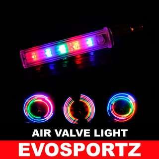 Bicycle Wheel Air Valve Light