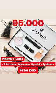 Chanel Makeup Set 5in1
