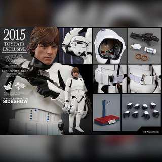 Hot Toys Luke Skywalker Stormtrooper in Disguise (MISB Brown Box)