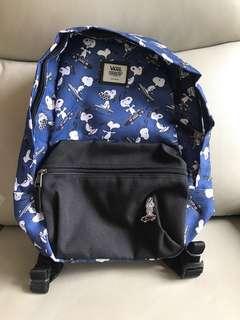 Snoopy children bag 背囊 背包 小童書包