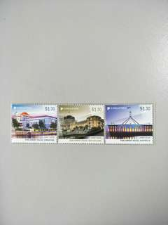 Singapore Stamps SIN-NZ-AUS Joint issue