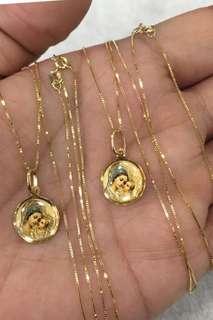 18K Saudi Gold jewelry