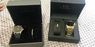 Armani and Ferrari Watch