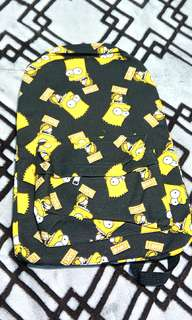 Bart Simpsons Backpack