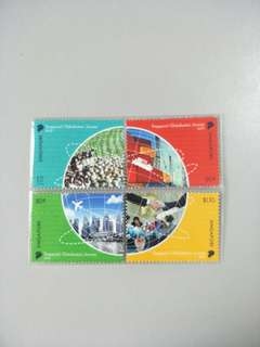 Singapore Stamps Globalisation Journey